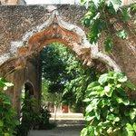 Le jardin de l'hacienda