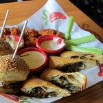 Three choice appetizer