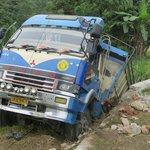 The road to Bukittinggi