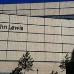 John Lewis infront of the hotel