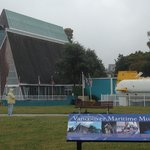 The museum and outdoor submarine display