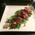 Beef and gnocchi salad