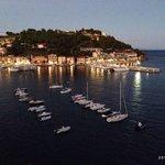 Porto Azzurro dalla terrazza...