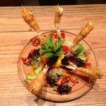 shrimp tempura arabesque style