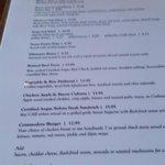 Options on the menu! Commodore     369 Victoria Street, Kamloops, British Columbia, Canada