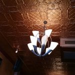 Very interesting old ceiling and light fixture, Commodore     369 Victoria Street, Kamloops, Bri