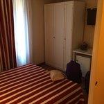 Queen bedroom in a room