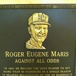 Plaque at museum - identical to one in Yankee Stadium