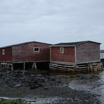 wharf and sheds belonging to the B&B