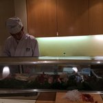 It is the third time I am here. But this time in the Sushi Bar. Fine selection of fish nicely pr