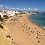 Old Town Albufeira Beach