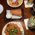 Jambalaya and Pasta Chicken Louisiana