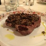 Filetto con  Tartufo