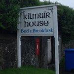 Kilmuir House sign