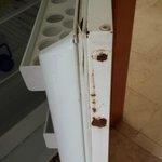 rusty fridge