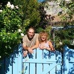 hosts Agnes and Bernard