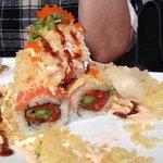 Volcano sushi!