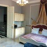 Kitchen/bed