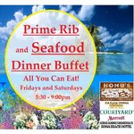 All you can eat Prime Rib and Seafood Buffet! The best buffet in Kailua Kona. Every Fri and Sat
