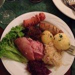 Best German food in one plate!