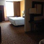 room 101 king.  large room