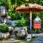 Entrance at Lowry Park Zoo