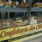"""Confeitaria dos Clérigos, nice to eat """"françesinhas"""""""