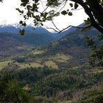 Vistas al Parque Nacional Huerquehue desde Huepil Malal