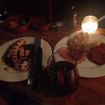 Grilled octopus and Sangria is a must!