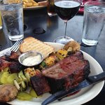 BBQ Combo Lunch (Crown Prime Beef Rib & Burnt Ends)