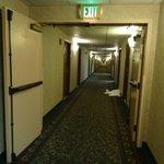 Corridor inside Shila Inn