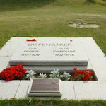 The Diefenbaker Grave