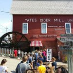At the cider mill
