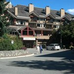 Whistler Village Inn and Suites from front