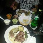 Arrachera. Flan steak