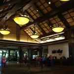 The Lobby is very nice.