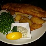 Beer Battered west coast Haddock and chips.