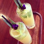Coconut and lycée mojito
