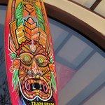 Surfer Themed Aloha Island Grille Restaurant, Santa Cruz, Ca