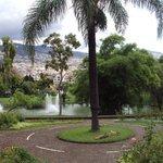 Santa Catarina Park, lake & fountains.
