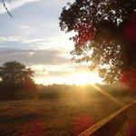 lever du soleil en terasse