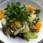 Fennel salad with orange and anchovy