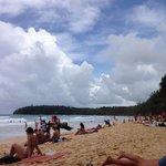 Playa muy bonita con gran oleaje para hacer surf!
