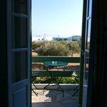 Blick aus dem Zimmer 21, obere Etage