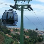 Cable Car from Funchal to Botanical gardens