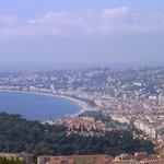 View overlooking Nice