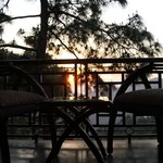 Sunset view in side room