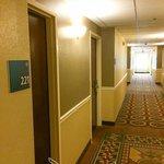 old style hallway