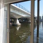 view of bridge from deluxe room