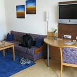 Sitting area in double room - very spacious.
